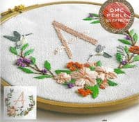 DMC Flower Garland embroidery kit